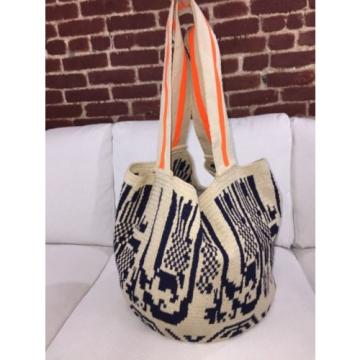 FINAL SALE Authentic Wayuu Oversized Mochila Tote Beach/pic nic Bag Crochet