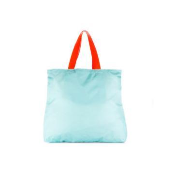 EMPORIO ARMANI EA7 WOMEN'S NYLON HANDBAG SHOPPING BAG PURSE NEW BEACH PRINTE C8F