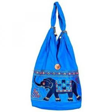 Handmade bag Ethnic Boho shopping purse cotton gypsy beach bag D33P