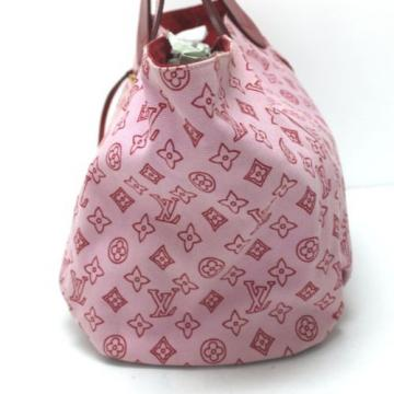 AUTHENTIC LOUIS VUITTON Beach line Cabas Panema GM Tote Bag Rose/Pink M95988