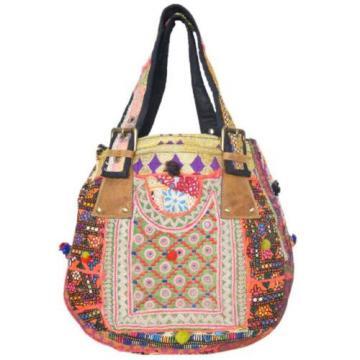 "Banjara Bag 12""x13"" Tote messenger Shopper Market Beach Bag India ID-15029"