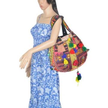 "Banjara Bag 12""x13"" Tote messenger Shopper Market Beach Bag India ID-15028"