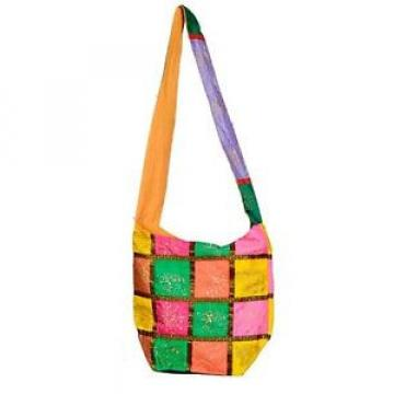Handmade bag Ethnic Boho shopping purse Embroidery gypsy beach bag D33S
