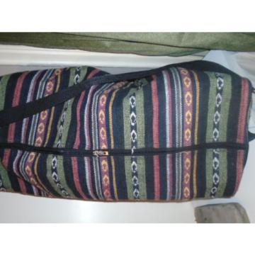 roots- VINTAGE T KILIM TAPESTRY TEXTILE LARGE BLANKET BEACH BAG
