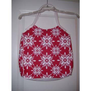 "LANCOME Canvas Handbag Purse Beach Bag Shoulder Bag Tote 12 X 13"" NWOT"