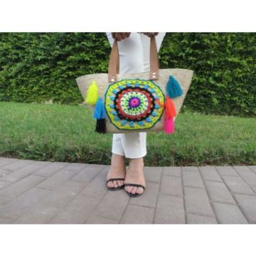 Beach bag, summer bag, woven bag, handmade bag, mexican bag