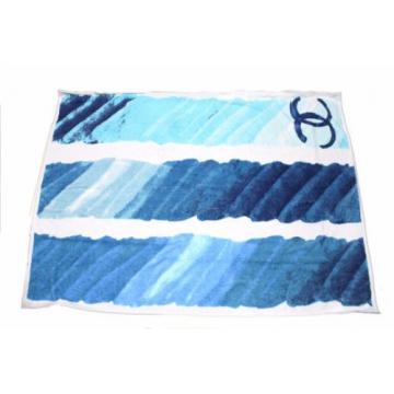 Authentic CHANEL Shoulder Bag Tote beach bag towel set A56192 (380729)