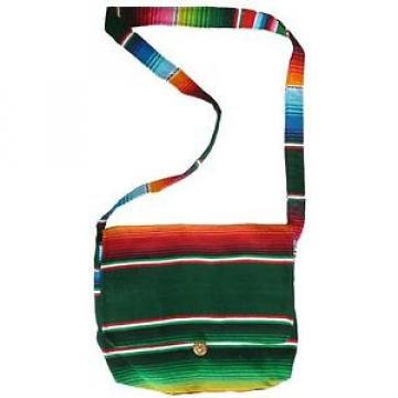 Mexican SERAPE MESSENGER Purse MULTI COLOR Mexican Bag Beach Hippie Tote Bag 701