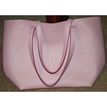 PINK PVC WITH DARK PINK POLYESTER BACKING PURSE / TOTEBAG / BEACHBAG *L@@K!*