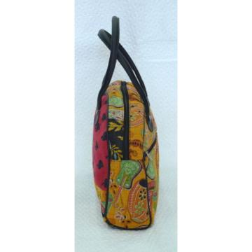 INDIAN VINTAGE KANTHA QUILT TOTE BEACH SHOPPING SHOULDER BAG WOMEN ACCESSORIES