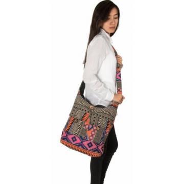 Pink Hobo Large Shoulder Bag Messenger Crossbody Tote Travel Shopping Beach Boho