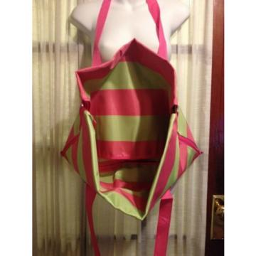 Nwt Ulta Shoulder Hand Bag Blanket Tote Large Summer Beach NWT Pink Lemon 2 in 1