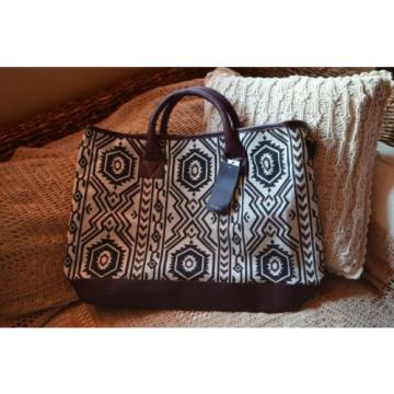 ZARA Printed Tote Shopper Beach Bag Real Leather Big Travel 4655/104