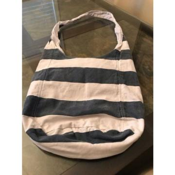 Hollister Canvas Crossbody Sling Beach Bag Purse