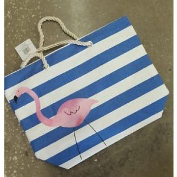 Flamingo Beach tote bag