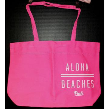 Victoria's Secret PINK Shopper / Tote / Beach Bag *N w/o T* Pink *Aloha Beaches*