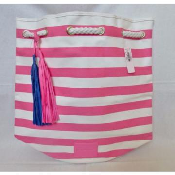 Victoria's Secret Beach Rope Tote Bag Backpack