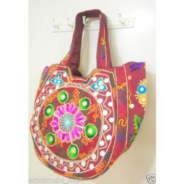 Hippie Handmade Ethnic Shoulder Beach Bag Tote Boho Banjara Embroidered Purse