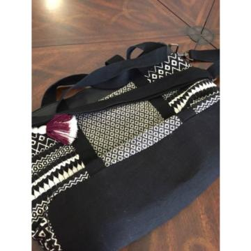 NWOT Mossimo Black & White Large Tote Beach Bag $34.99