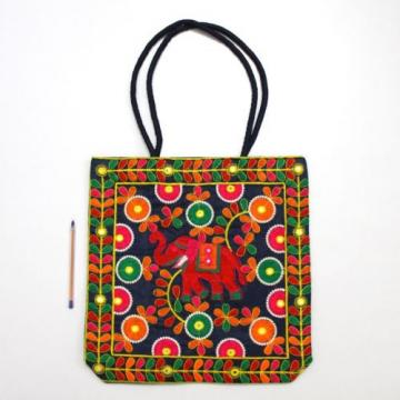 Indian Handmade Ethnic Designer Bohemian Multi Purpose Handbag Beach Tote Bag