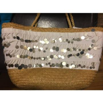 JINGLE LARGE SEQUENCE BEACH BAG PURSE