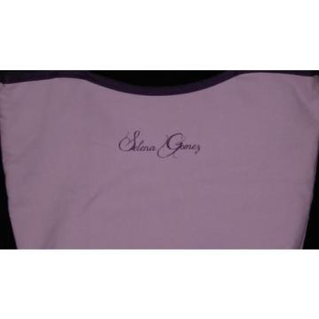 Selena Gomez Canvas Cosmetic Beach Bag 14x9x4