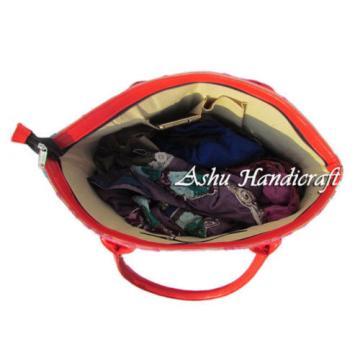 Indian Cotton Tote Suzani Embroidery Handbag Woman Shoulder & Beach Bag s05