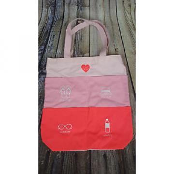 NWT VICTORIA'S SECRET Pink Limited Edition 4 Pocket Large Beach Tote Bag