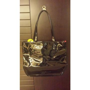 Brand New Arnold Palmer Plastic Beach Handbag Tote Shoulder Bag Black