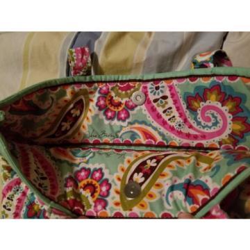 Vera Bradley Tutti Frutti Tote Bag Beach Bag Over Night Bag