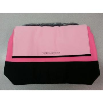 Victoria's Secret Pink/Black Beach Cooler Insulated Tote Beach Bag 2016