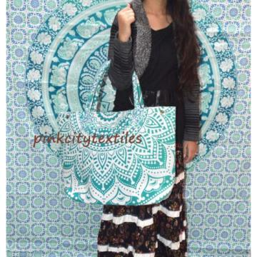 Indian Handbag Women Gypsy Bag Mandala Ombre bag Shopper Bag Carry bag Beach bag
