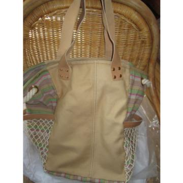 NEW UGG Bag Novelty Beach School Tote Canvas Leather