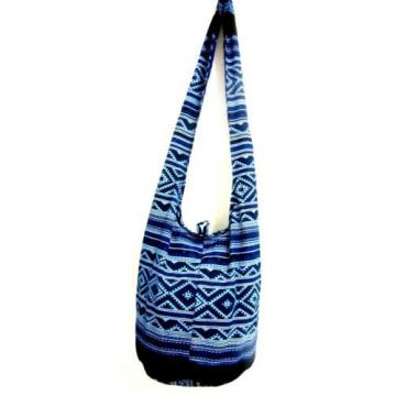 M BAG SLING SHOULDER YOUNG BOHEMIAN BEACH HOBO CROSSBODY PARTY PICNIC MONK BLUE