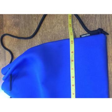 NWOT Triangl Neoprene Blue Beach Bag Backpack Suit Pouch New Water Resistant