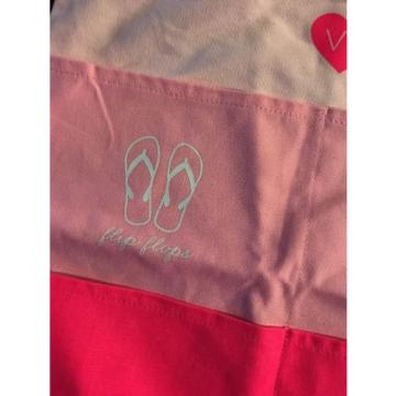 Victoria's Secret Tote Large PINK SWIM /BEACH Tote Pool BAG