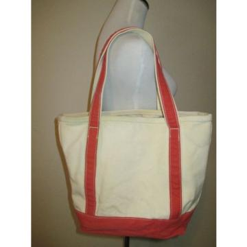 LANDS' END MEDIUM OPEN TOP RUGED CANVAS SHOULDER BAG BEACH TOTE KELLY