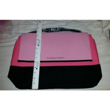 Victoria's Secret Beach Insulated Neoprene Cooler Tote Bag Pink/Black NEW