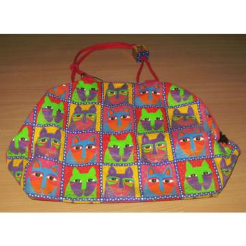 Laurel Burch Sun N Sand Large Tote Beach Bag Cats Fantastic Felines