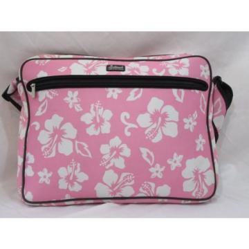 California Leash Company Tote CLC Beach Bag Neoprene Pink White Floral Large Sz
