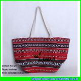 LDFB-006 classical sadu fabric cotton tote bag with rope handles