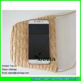 LDMC-120 natural straw pouch sling shoulder handbags girls' straw coin purse
