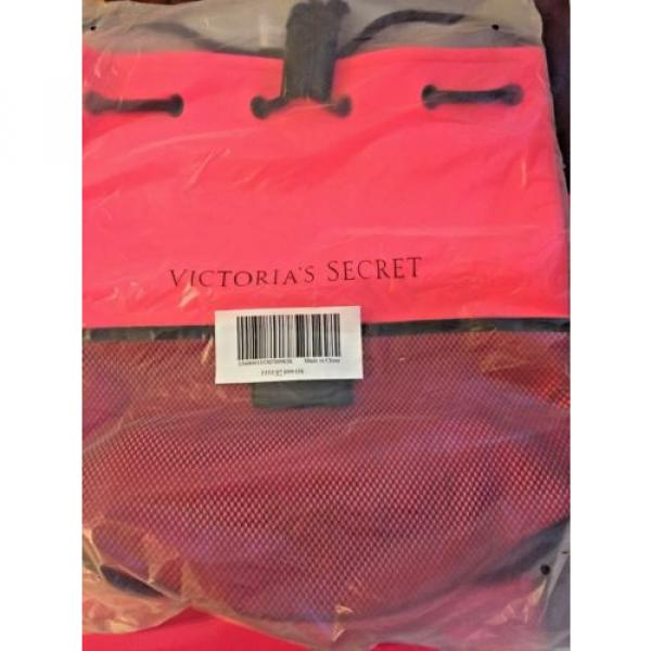 Victoria Secret Limited Edition Neoprene Pink Swim Tote / Beach / Bag #2 image