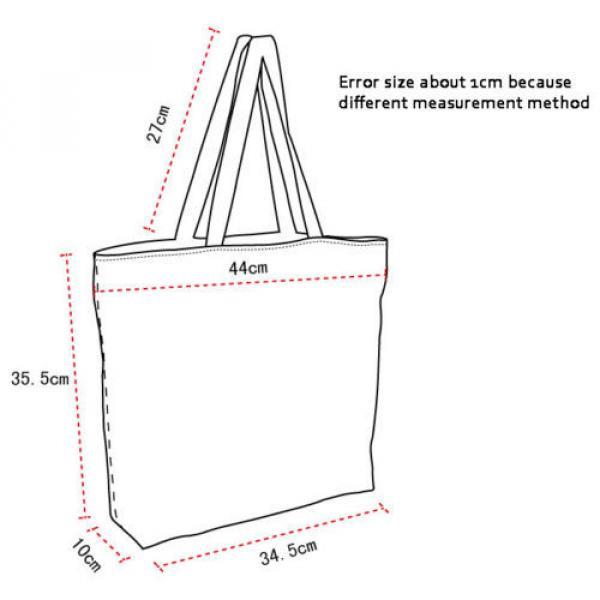 Flower Lady Girl's Shopping Shoulder Bags Women Handbag Beach Bag Tote HandBags #2 image
