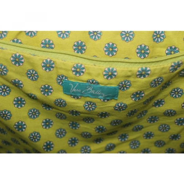 Womens Vera Bradley Authentic Large Straw Peacock Beach Bag Tote Handbag Purse #5 image