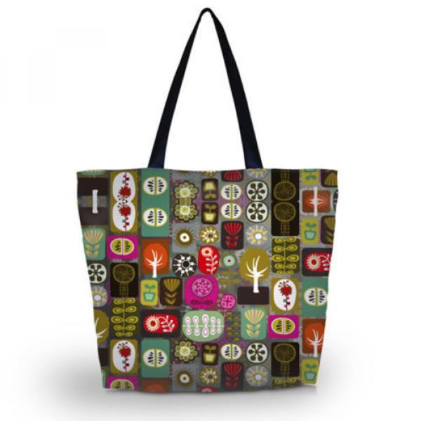 Big Soft Foldable Tote Women's Shopping Bag Shoulder Bag Lady Handbag Beach Bag #1 image