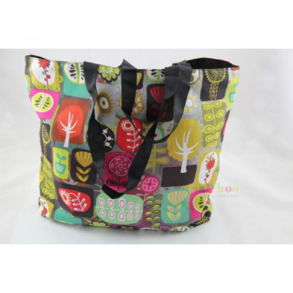 Big Soft Foldable Tote Women's Shopping Bag Shoulder Bag Lady Handbag Beach Bag #2 image