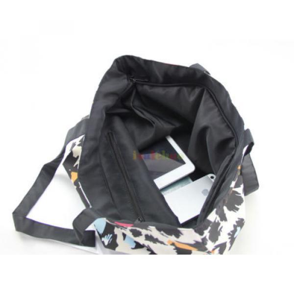 Big Soft Foldable Tote Women's Shopping Bag Shoulder Bag Lady Handbag Beach Bag #3 image