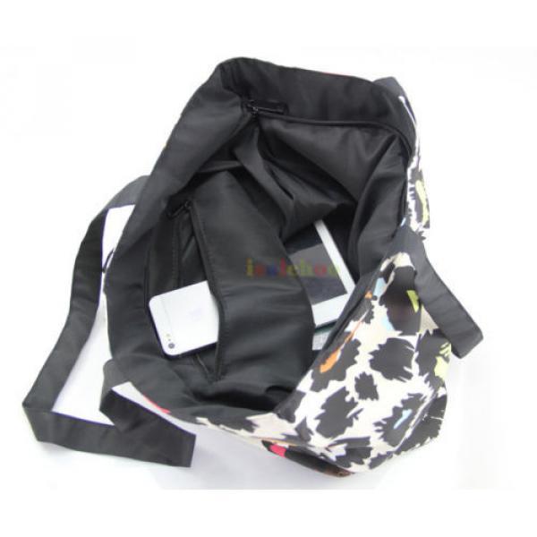 Big Soft Foldable Tote Women's Shopping Bag Shoulder Bag Lady Handbag Beach Bag #4 image