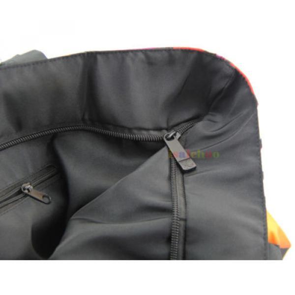 Big Soft Foldable Tote Women's Shopping Bag Shoulder Bag Lady Handbag Beach Bag #5 image